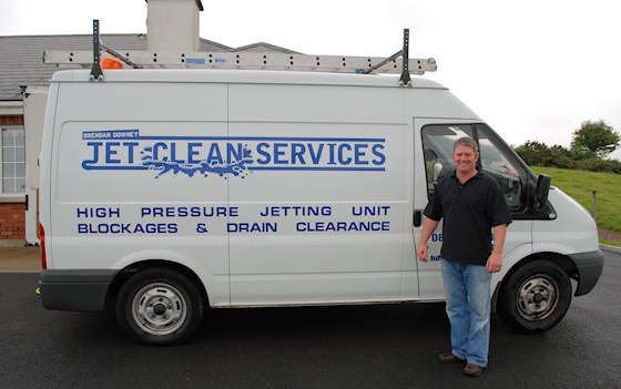 Brendan Downey, Jet Clean Services, Dungarvan, Co. Waterford, Ireland.
